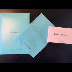 Authentic Tiffany & Co Sliver Polishing Cloth
